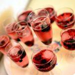 Czerwony szampan